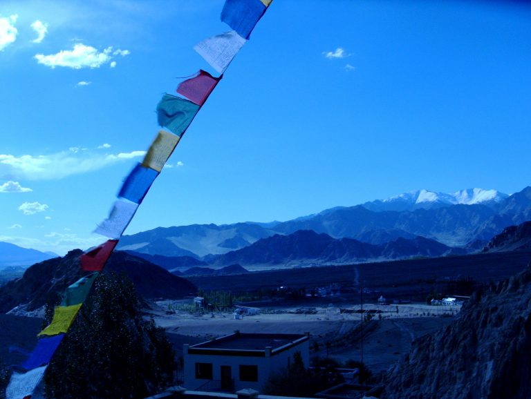 Leh Area - prayer flags