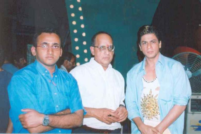 Krishna & Raghvendra with SRK